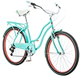 Schwinn Perla Women's Cruiser Bicycle, Featuring 18-Inch Step-Through...