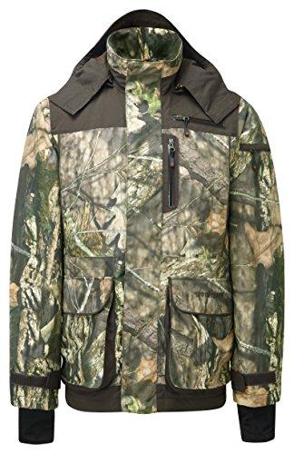 Shooterking King Men's Country Oak Cordura Veste de Tir, Homme, Country Oak Cordura, Mehrfarbig - Camouflage/Green
