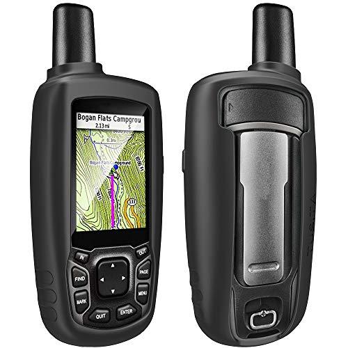 TUSITA Custodia Compatibile con Garmin GPSMAP 62 62s 62st 62sc 62stc 64 64s 64st 64sc 64x 64sx 64csx 65 65s - Custodia Protettiva in Silicone per Pelle - Accessori Navigazione GPS Palmare