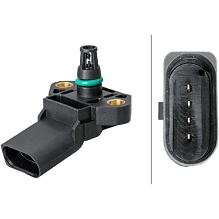 Hella 6pp 009 400 471 Sensor Ladedruck 4 Polig Geschraubt Auto