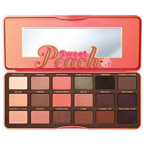 """Too Faced """"Sweet Peach"""" (süßer Pfirsich) Lidschatten-Palette 18x 0,95g"""