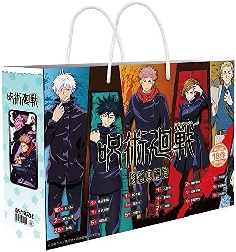 UimimiU Jujutsu Kaisen quality Long Beach Mall assurance Series Anime Gift Bracelet Set with Box S