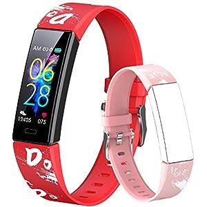 Dwfit Fitness Armband Kinder Fitness Tracker mit Pulsmesser