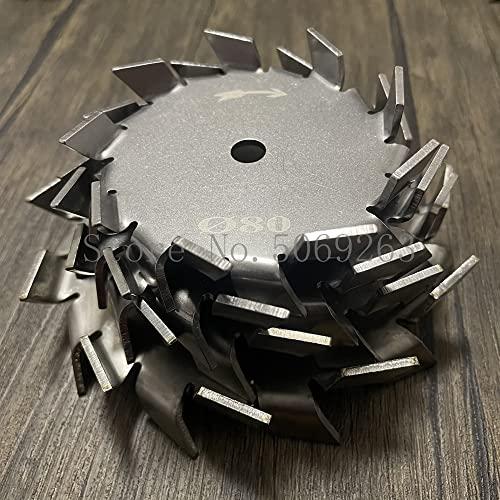 1 agitador de disco de dientes de sierra de acero inoxidable de laboratorio 304, agitador de disco dispersivo con barra de agitación