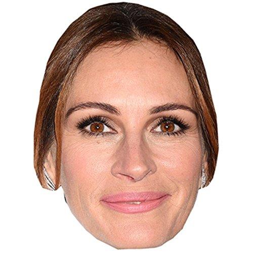 Celebrity Cutouts Julia Roberts Maske aus Karton