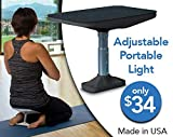 Meditation bench, Seiza Bench,It's Adjustable, Portable,Lightweight and Durable (Black)