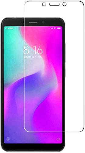 Tempered Glass for Redmi 6A Redmi 6A Temper Glass Redmi 6A Screen Guard Redmi 6A Tempered Glass MI 6A Tempered Glass MI 6A Temper Glass MI 6A Screen Guard By candeal mart pack of 5 Tempered Glass