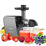 Home Juicers Fruit Vegetable Slow Masticating Juicer Machines Cold Press High Yield Extractor...