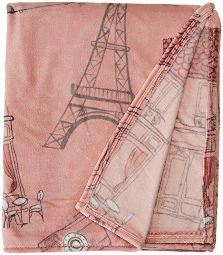 Colchas Concord Francesa Cobertor Ultra Suave Matrimonial/Individual, Gray