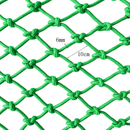 Find Discount NIUFHW Decorative Mesh Rope Nylon Rope Green, 2x3m Garden Decoration Net Child Protect...