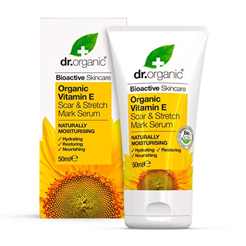 Dr. Organic Sérum Cicatrices/Vergetures à la Vitamine E Bio 50 ml
