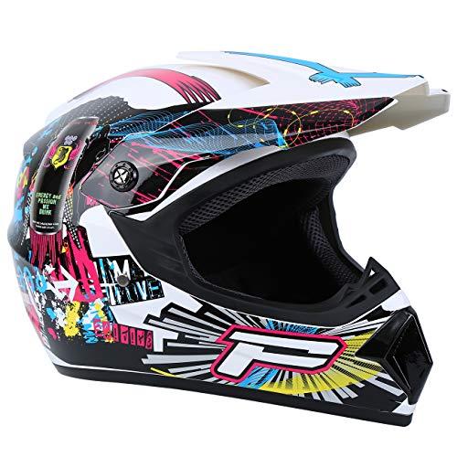 Product Image 6: Samger DOT Adult Offroad Helmet Motocross Helmet Dirt Bike ATV Motorcycle Helmet Gloves Goggles