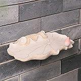 Wall Mounted for Bad Dekor Badezimmer Regal Storage Rack Chinesische antike Retro Lotus-Blatt-One...