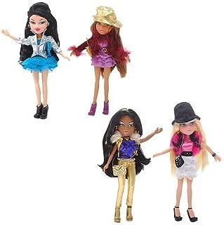 Paquete exclusivo de 4 muñecas Bratz Fashion Stylistz - Jade, Yasmin, Cloe, Sasha