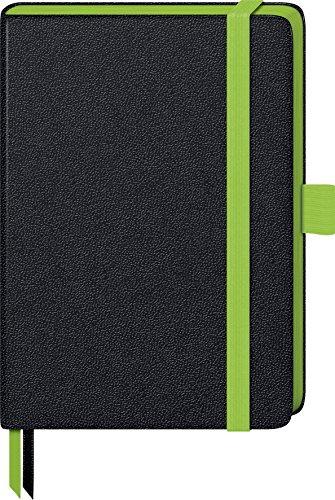 Brunnen 105571852 Notizbuch Kompagnon Trend (Hardcover, 9,5 x 12,8 cm, kariert, 192 Seiten) 1 Stück grün