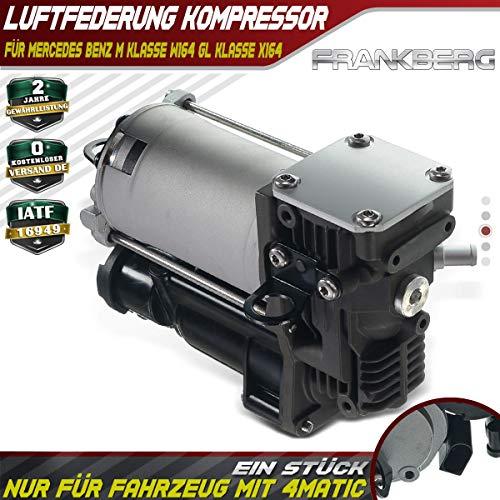 Frankberg 1643201204 - Compressore trazione Integrale per Classe GL X164 Classe M W164 2005-2016