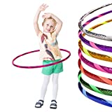 Glamour Kinder Hula Hoop Reifen Ø70cm, Pink-Pink