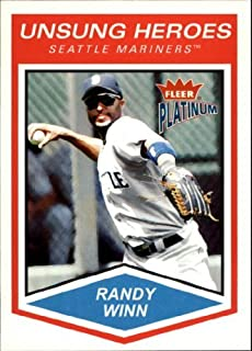 2004 Fleer Platinum #178 Randy Winn UH MLB Baseball Trading Card