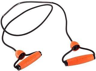 多機能ワードプルロープホームラリーフィットネス弾性ロープラテックスチューブアームの力の胸 (色 : Orange)