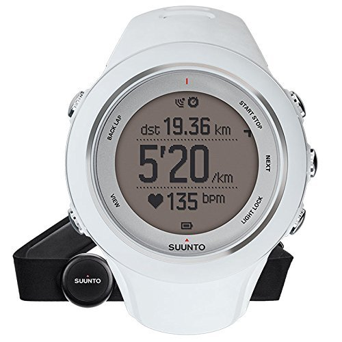 Suunto Ambit3 Sports HR GPS Watch - White by Suunto