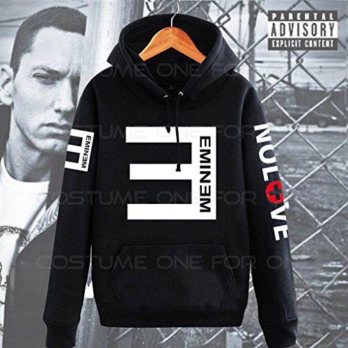 New Hot Eminem Hip Hop Sweater Hoodie Hoody Jacket Coat Tops Black S - http://coolthings.us