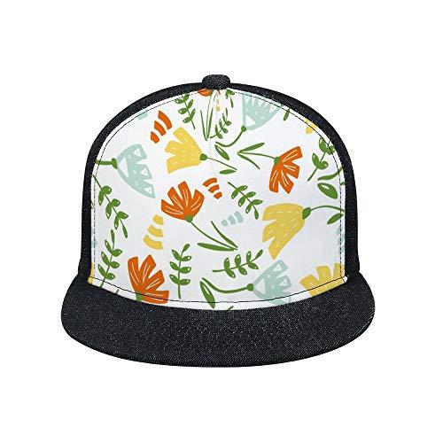 MEGAN GALL California Buds and LeavesAdjustable Baseball caps for Men and Women, Cowboy Hats