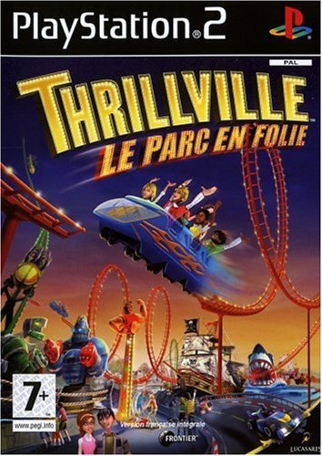Thrillville Off the Rails : Playstation 2 , FR