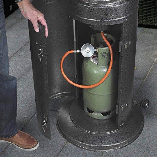 Gas-Heizstrahler Standheizstrahler Terrassenheizung Heizlüfter Heizgerät Heizer; - 6