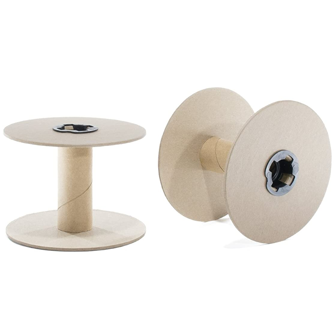 "Sturdy 3.5"" Cardboard Spool – Spool Kit – Multiple Pack Sizes for Crafts Rope Cord Thread Wire Chain"