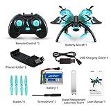 ShenyKan H42WH en Forme de Papillon 480P RC Quadcopter WiFi Téléphone Contrôle Télécommande Double Mode Altitude Hold Selfie Drone 0.3MP Caméra