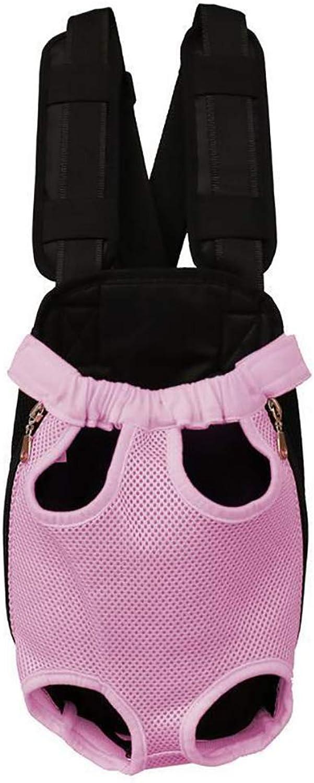 Fashion Cat Bag Pet Bag Out Bag Shoulder Bag Strap Chest Bag Dog Bag Cat Bag Carrying Bag Travel Set 7 color Optional (color   Pink, Size   S)