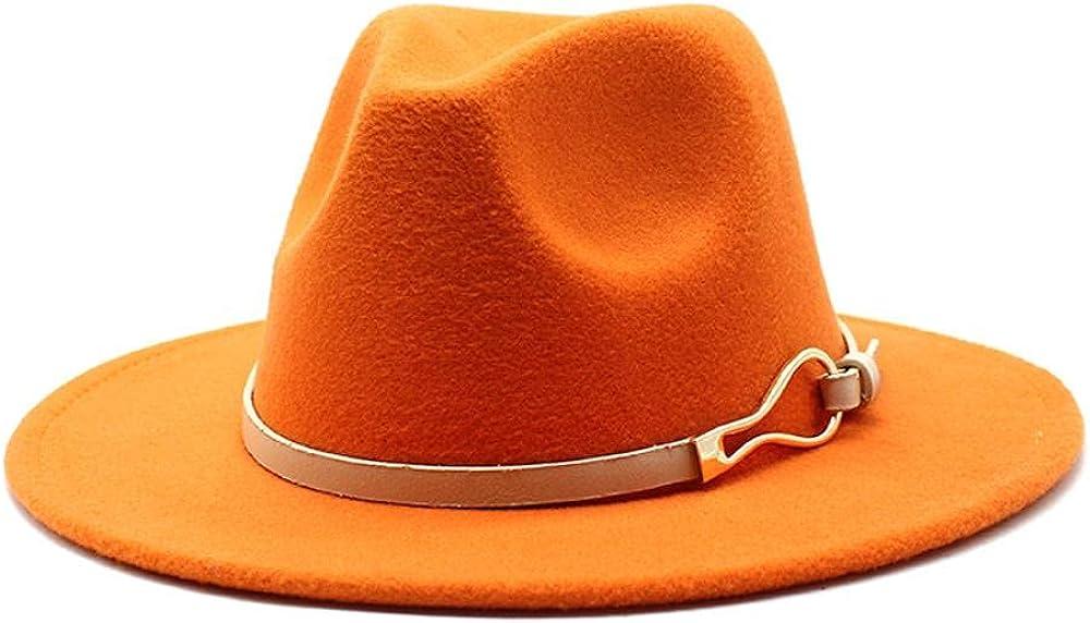 Women's and Men's Fedora Hat Classic Elegant Super beauty product restock quality top Wide High quality new Brim Panama Wo