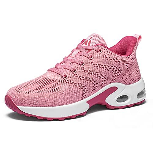Mishansha Scarpe Ginnastica Donna Sneakers Running Camminata Corsa Basse Tennis Air Traspiranti Sportive Gym Fitness Casual Comode