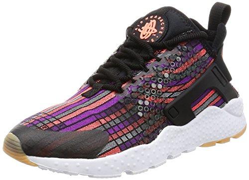 Nike Air Huarache Run Ultra, Scarpe da Trail Running Donna, Nero (Black/Hot Lava-Gum), 37.5 EU