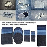 パッチは機械切断を採用しますファッショナブルで耐久性のあるジーンズ帽子DIY服のスカーフステージ服のキルティングと縫製のための服の修理