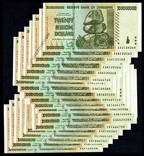Best 20 billion zimbabwe dollars Reviews