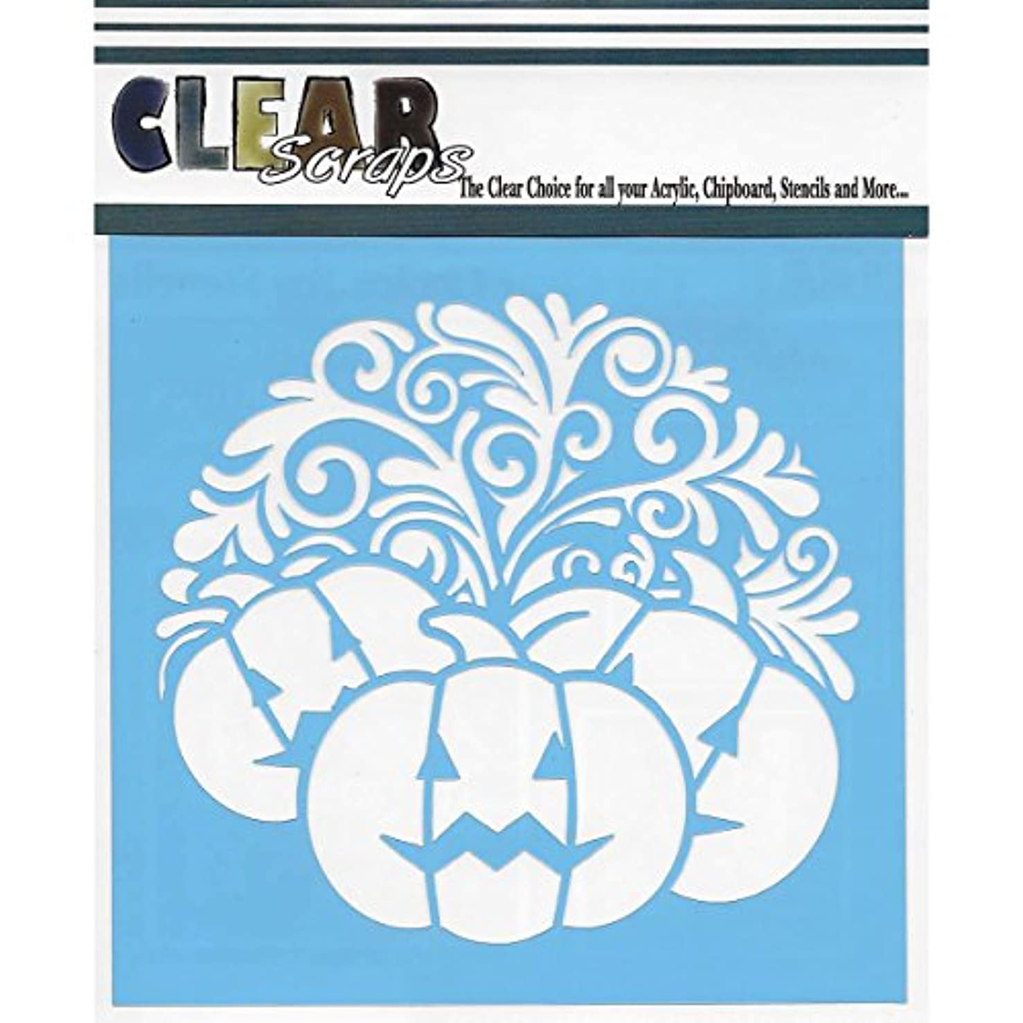 CLEARSNAP Clear Scraps Stencils 6