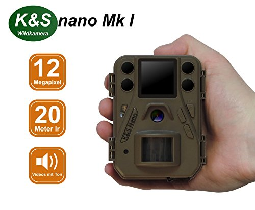 Wildkamera K&S nano Mk I HD 12MP 940nm black IR