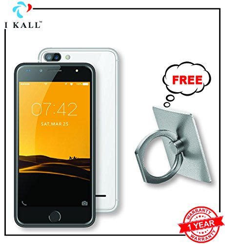IKALL Silver 5 Inch Display 18GB 4G Volte Smart Phone with