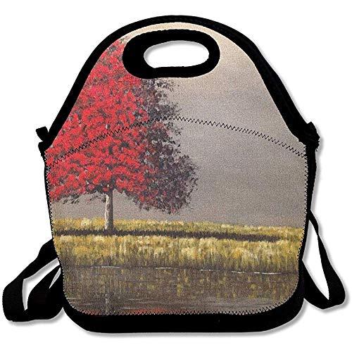 DJNGN Lunch Box for Men Work Hard Lunch Bag for Kids Lunch Bag Lunch Box Food Bag Simple