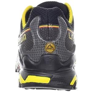 La Sportiva Men's Ultra Raptor Trail Running Shoe,Black/Yellow,45 EU/11.5 M US
