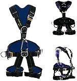 XQMY Arnés de Seguridad con cordón para Trabajadores de la construcción, Escalada, Bomberos, Equipo de protección Personal