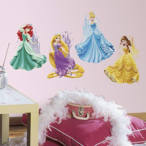 RoomMates Disney Princesses amp Castles Peel And Stick Giant Wall Decals
