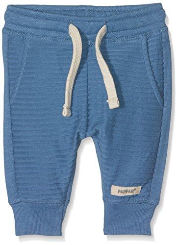Papfar Baby-Jungen Jogginghose GOTS-Zertifiziert Hose, Blau (Dark Blue 270), 56 (Herstellergröße: 0M)