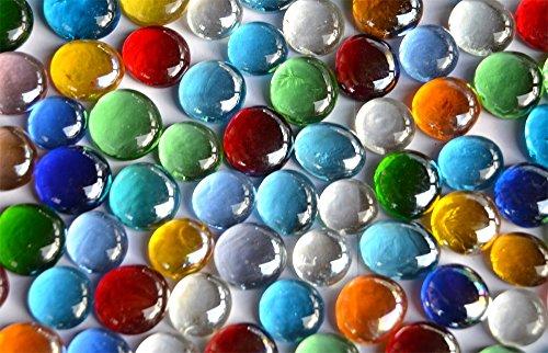 Bazare Masud e.K. HE-9IOK-OT33, Cristal, Multicolor, 500 gr de Bolas Planas