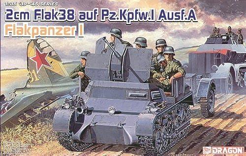 Dragon - D6220 - Maquette - Flakpanzer I AUSF à - Echelle 1 35
