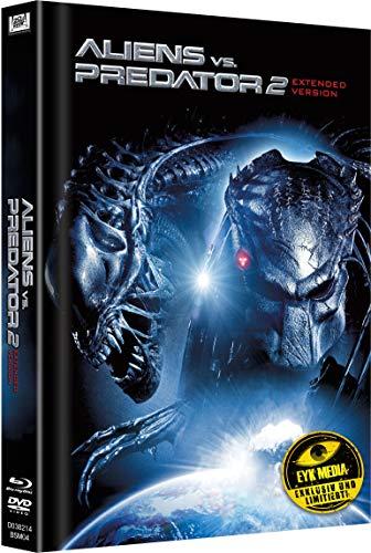 Aliens vs. Predator 2 Extended Version Limited Mediabook Cover A (Limitiert auf 333 Stk.)