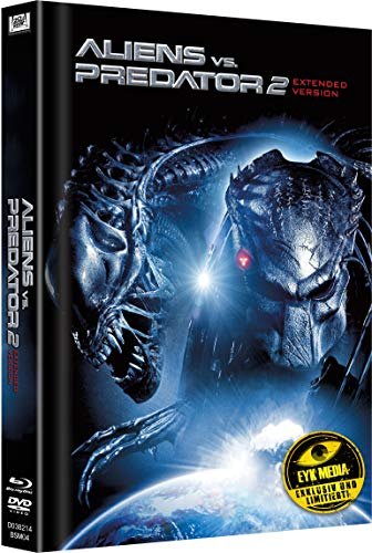 Aliens vs. Predator 2 Extended Version Limited Mediabook Cover A (Limitiert auf 333 Stk.)
