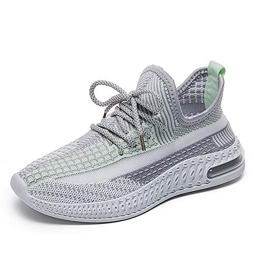 All-Match Student Casual Women Shoes Sports Shoes Breathable Coconut Shoes Green