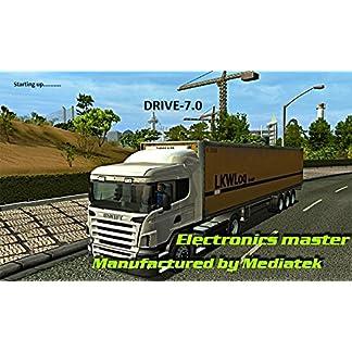 LKWTRUCK-PKW-BUSWOHNMOBIL-und-CAMPER-NavigationsgeraetRadarwarner-Kostenlos-Map-Update-GANZ-EUROPA-KARTE47-laender-Gefahrgut-GRATIS-SONNENBLENDEVon-Electronics-Master-7-Zoll-INKL-TMCTMC-PRO